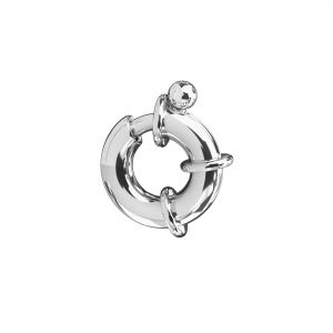 Federing clasps, sterling silver 925, AM 13,5 mm