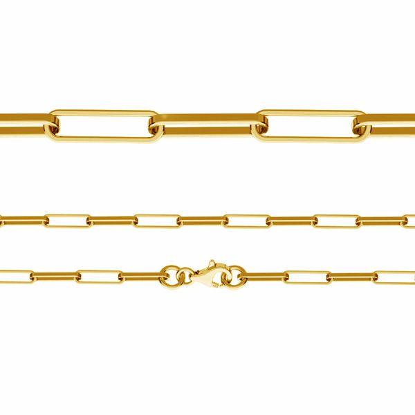 Anchor chain, diamond cut*sterling silver 925*FIO 100 45 cm