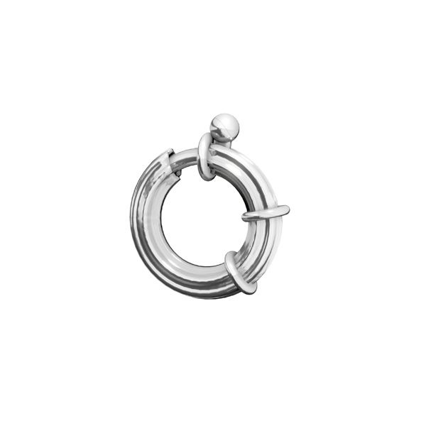 Federing clasps, sterling silver 925, AM 3x13,5 mm