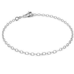 Round anchor barcelet, sterling silver 925*A 050 19 cm (CHP 9)