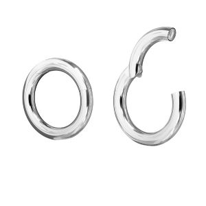 CHO 22 mm - round silver clasps 22 mm, sterling silver 925