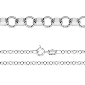 Round rolo chain*sterling silver 925*ROLO 035 (40 cm)