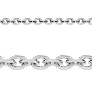 Forzatina diamond cut sterling silver bulk chain*sterling silver 925*AD 030 1 mm