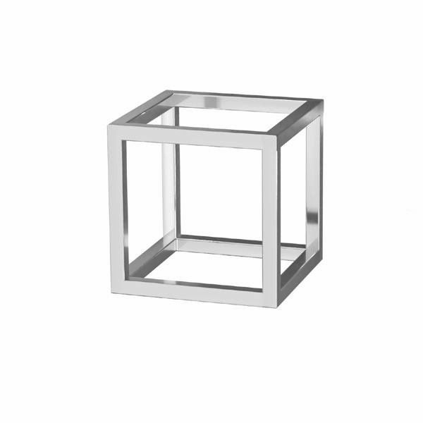 Cube pendant*sterling silver 925*OWS-00001 15x15 mm