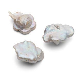 Flowers natural pearls 17 mm, GAVBARI PEARLS