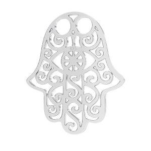 Hamsa pendant, sterling silver 925, LK-1272 - 0,50 (2058 SS 7)
