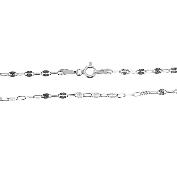 A 040 RDS ALT 40 cm, sun anchor chain for celebrity necklace, sterling silver