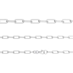 AFL 1,00 40 cm, anchor chain for celebrity necklace, sterling silver