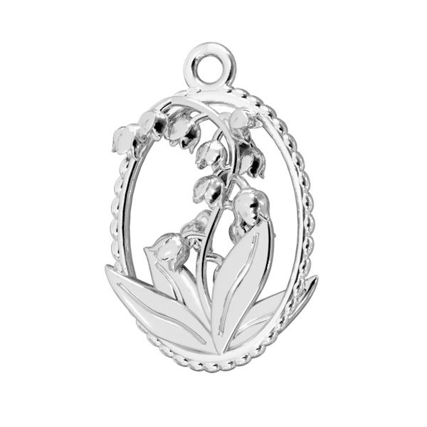 Sunflower pendant*sterling silver 925*ODL-00790 16x18,5 mm