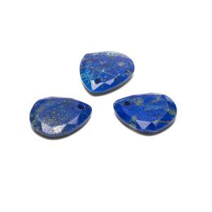 TEARDROP pendant, Lapis lazuli 16 MM GAVBARI, semi-precious stone
